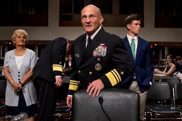 ▲美國海軍作戰部長吉爾迪。(圖/美聯社/達志影像)