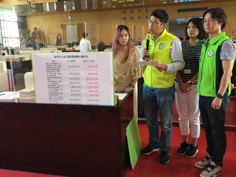 中市民政業務預算加碼被批為綁樁 民政局:推展各區特色