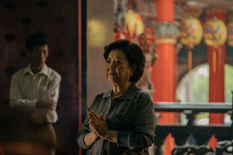 ▲陳淑在片中飾演內斂、堅毅的台灣傳統母親。(圖/威視)
