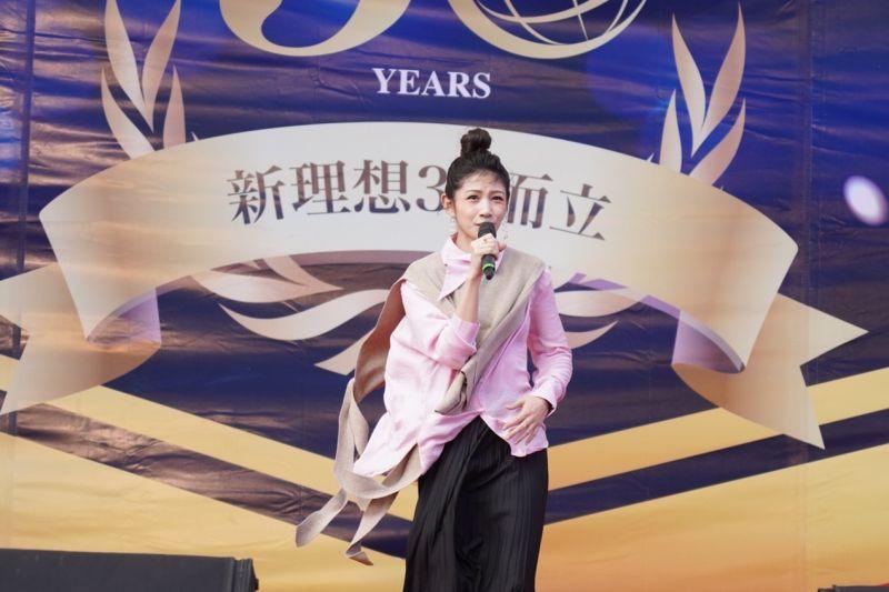 ▲活動請來藝人李千那現場演唱。(圖/資料照片)