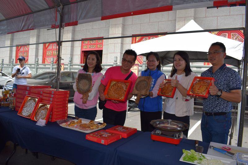 ▲北港國際糕餅麻油節將於17、18日在北港武德宮盛大登場。(圖/記者洪佳伶攝,2020.10.14)