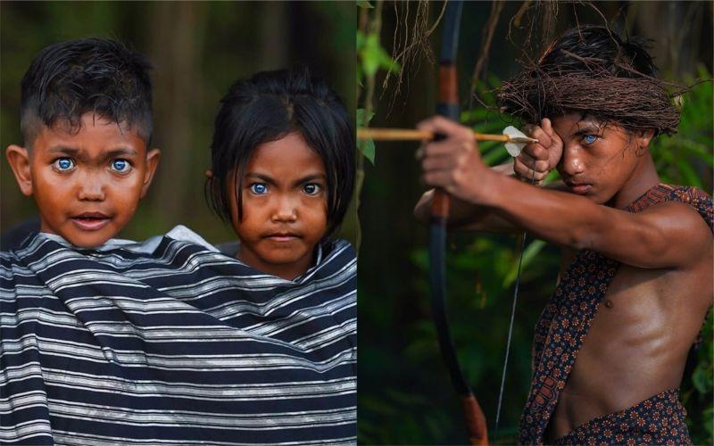 印尼<b>部落</b>族人擁絕美藍色大眼 背後原因曝光網友惋惜