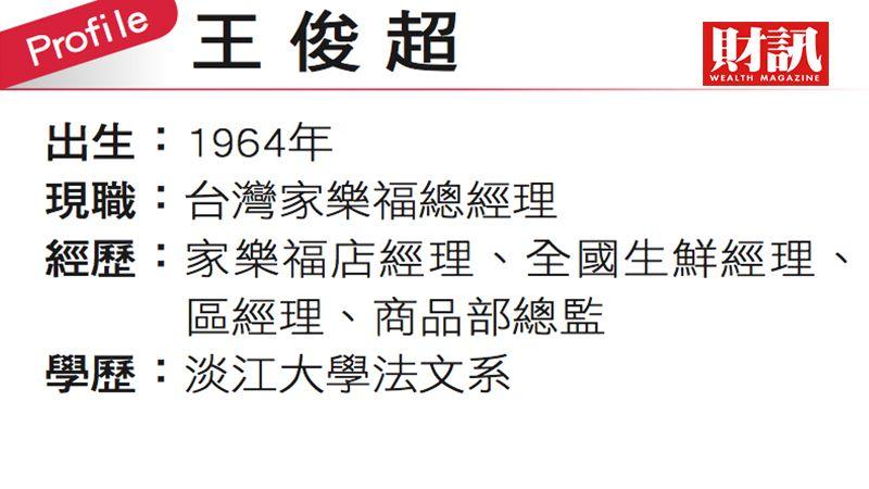 ▲台灣家樂福總經理王俊超。(圖/財訊雙週刊)
