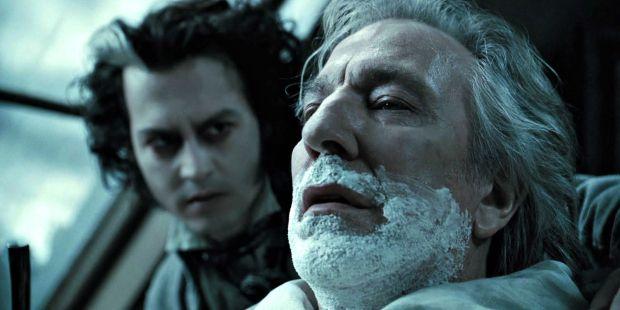 ▲▼強尼戴普和艾倫瑞克曼對戲,相當精彩。(圖/《瘋狂理髮師》劇照,聯影)