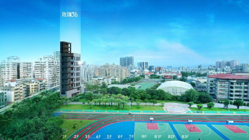 ▲中遠建築三重區,捷運挑高景觀綠住所「玫瑰3米6」。(圖/資料照片)