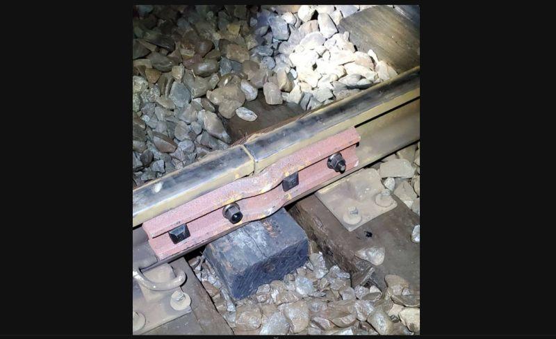 鋼軌連接處的魚尾鈑斷裂