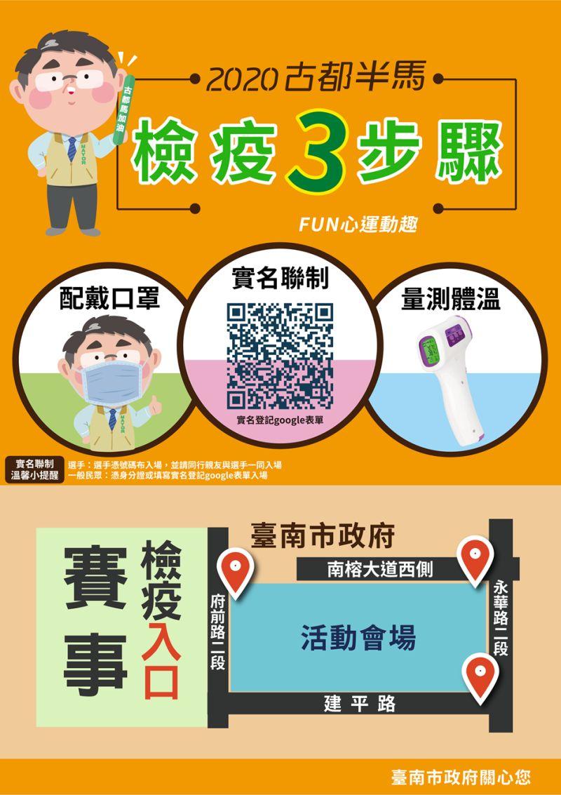 ▲防疫宣導。(圖/台南市政府提供)