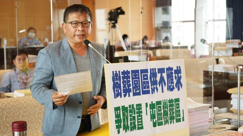 中市樹葬供不應求 議員:市府應重視處理