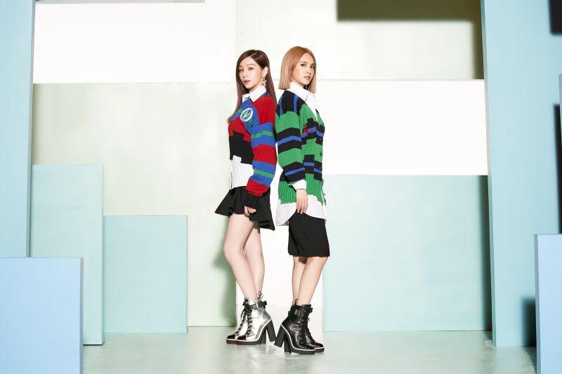 ▲楊丞琳、王心凌推出合作歌曲《女孩們》。(圖/環球唱片提供)