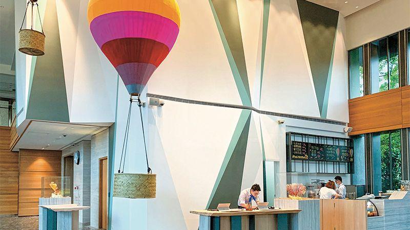 ▲旗下擁有10家飯店的凱撒集團,已成為全台灣房間數最多的飯店連鎖龍頭。(圖/財訊雙週刊)