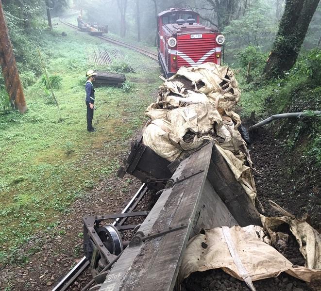 阿里山森林鐵路<b>神木線</b>出軌意外 再延至18日中午復駛