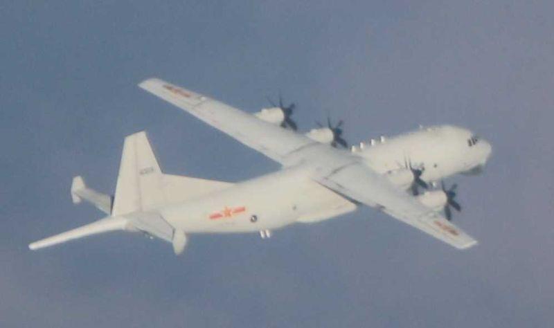 共機本月第12度擾台 空軍廣播驅離、防空飛彈追監應處