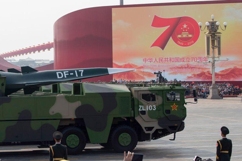 中國東南沿海部署東風-17飛彈 港媒:解放軍為攻台準備