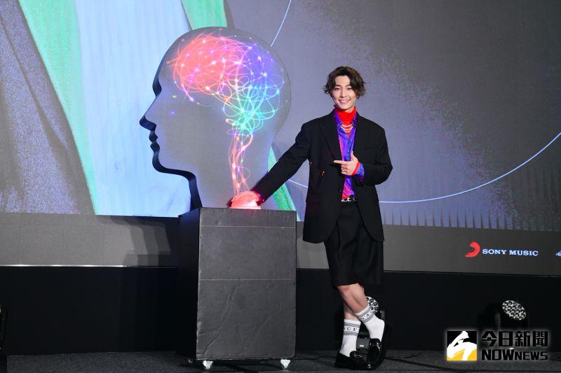 炎亞綸舉辦加盟索尼音樂記者會。(圖/記者林柏年攝 ,2020.10.19)