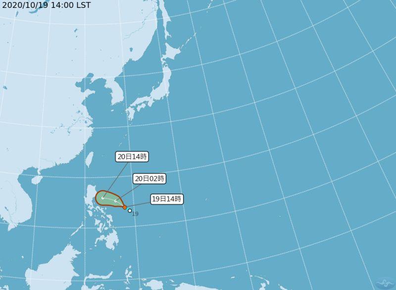 颱風最快今晚生成 21、22日東北部嚴防大雨