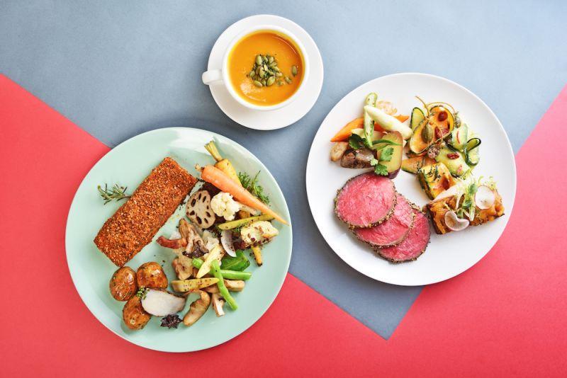 ▲新品牌以專櫃型式進駐美食街,主打「好肉好菜、快速便利」。(圖/業者提供)