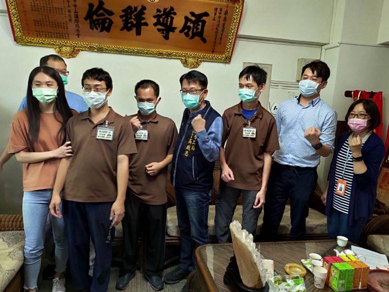 欣中環保力挺身障員工    勞工局長感謝創造4贏