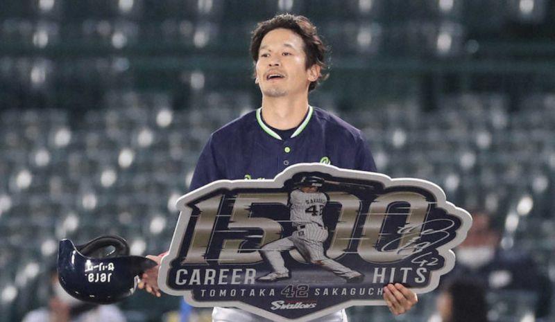 日職/最後的近鐵戰士!坂口智隆1500安致敬岩隈