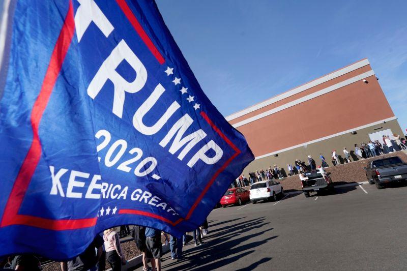 <b>川普</b>為助選人員打氣 強調「我們會贏」