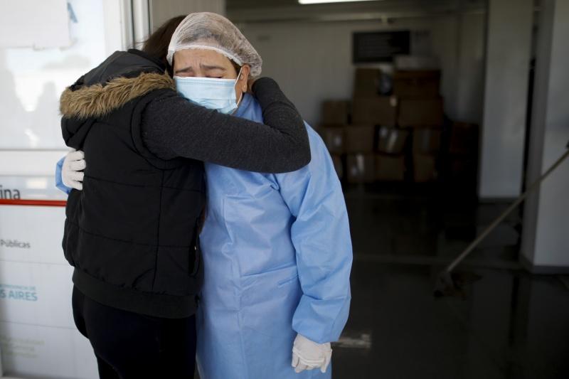 全球第5國確診破百萬例 阿根廷病毒檢出率逾60%