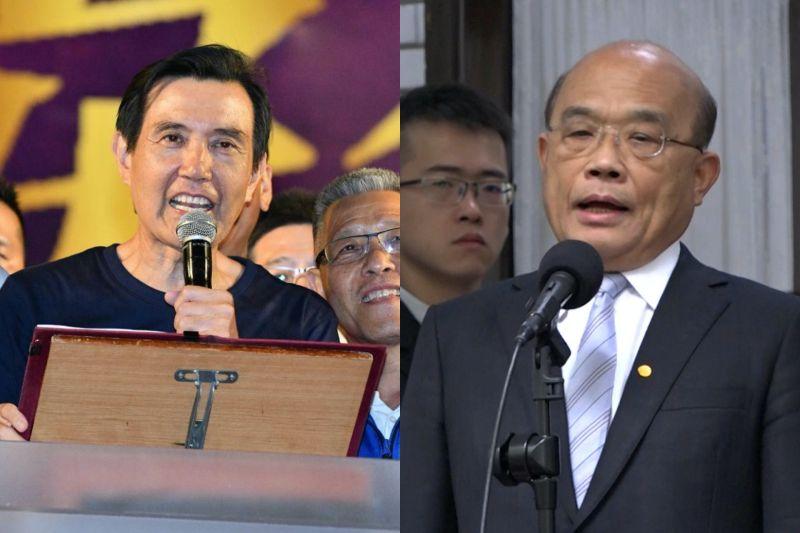 行政院長蘇貞昌批評總統馬英九任內曾干預NCC對於年代綜合台之換照,對此馬辦鄭重否認,反嗆蘇貞昌任內兩度干預NCC。