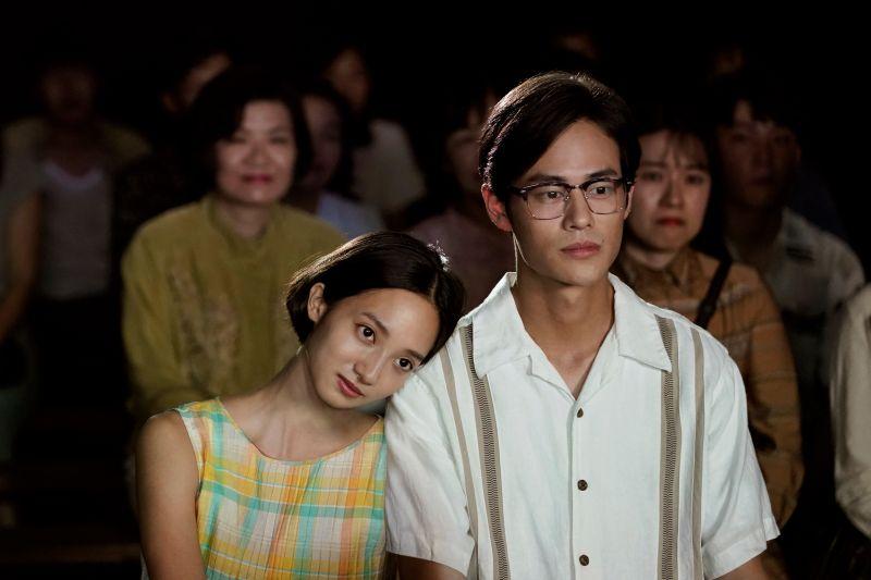 ▲韓寧、夏騰宏在劇中,有段浪漫虐心的愛戀。(圖
