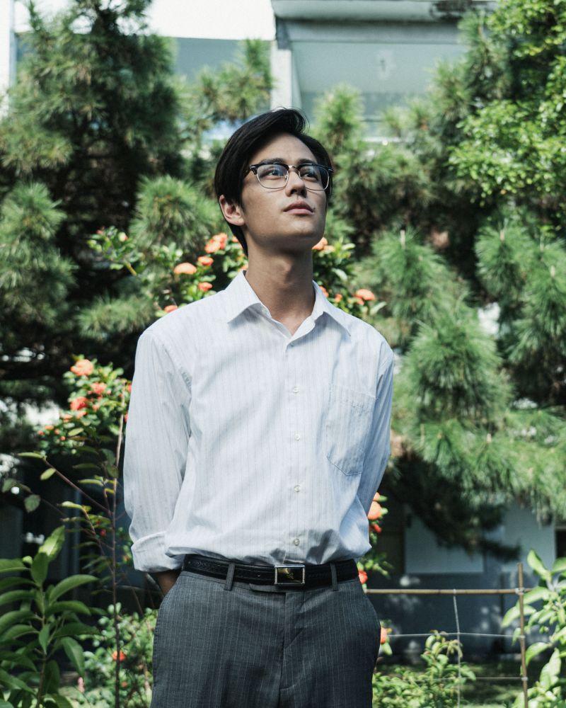 ▲夏騰宏飾演60年代讀書會悲劇事件的主人翁「張老師」。(圖