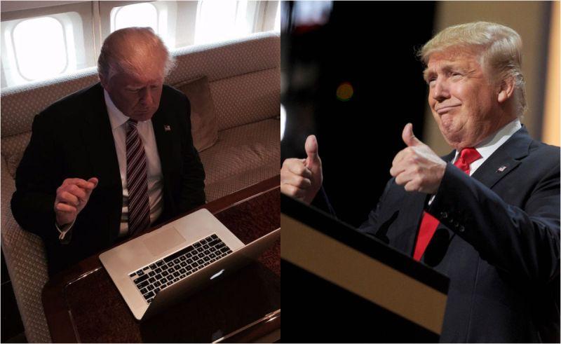 川普:來自地獄的筆電