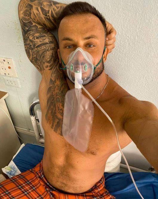 以為新冠肺炎是場騙局!肌肉猛男網紅確診 8天後竟去世