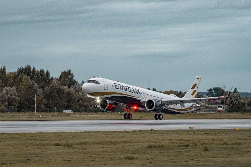 星宇航空喜迎新機 第4架A321neo下午抵台