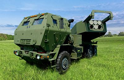 ▲M142海馬士多管火箭系統(HIMARS)。(圖/洛克希德馬丁官網)