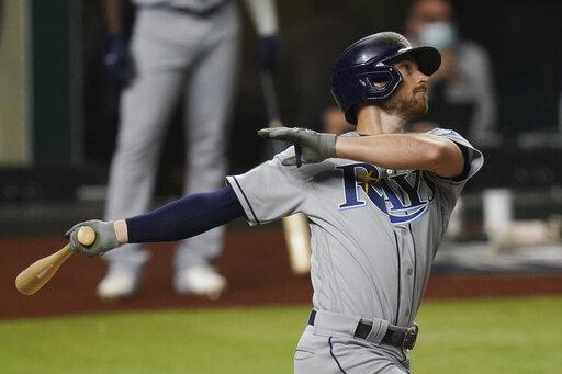 MLB/Lowe單場雙響砲發威 光芒世界大賽扳回一城
