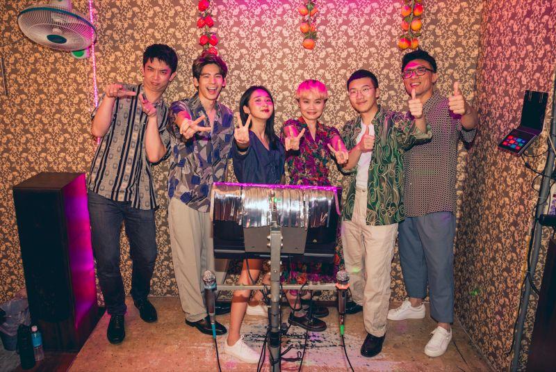 青虫aoi 台語新歌《無你的故事》,林柏宏友情跨刀合唱,並演出MV,女主角則是李沐。(圖/青虫aoi 提供)