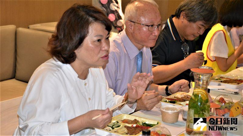 ▲嘉義市長黃敏惠表示,對高齡友善就是對全齡友善。(圖/記者郭政隆攝影2020.10.22)