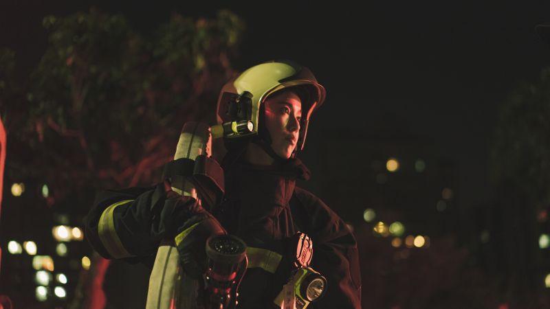 《火神的眼淚》飾演消防員感觸深 陳庭妮:就是拿命換命