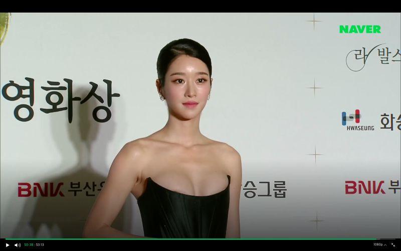 ▲徐睿知身材火辣。(圖/Naver)