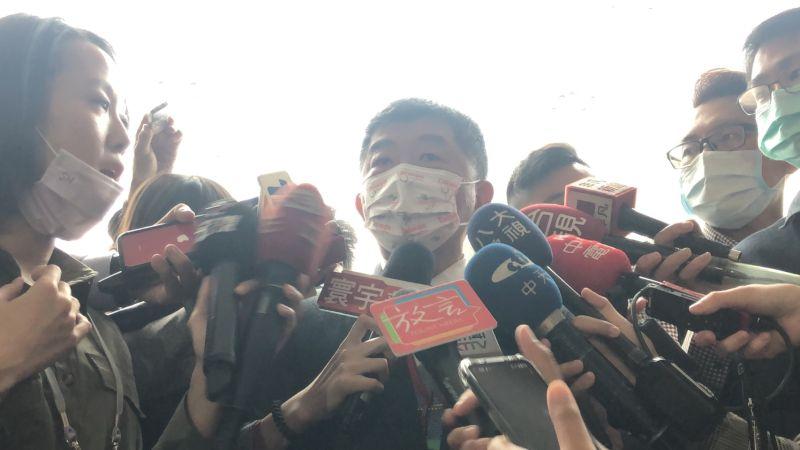 ▲衛福部長陳時中,今(23)天針對賽諾菲流感疫苗做出回應。(圖/記者劉雅文攝)