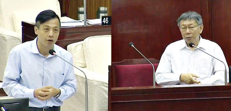 台北市長柯文哲23日對中天案表示,所有規則都要事先講好,絕對不能「我認為、我以為、我覺得」。(圖/翻攝柯P直播)