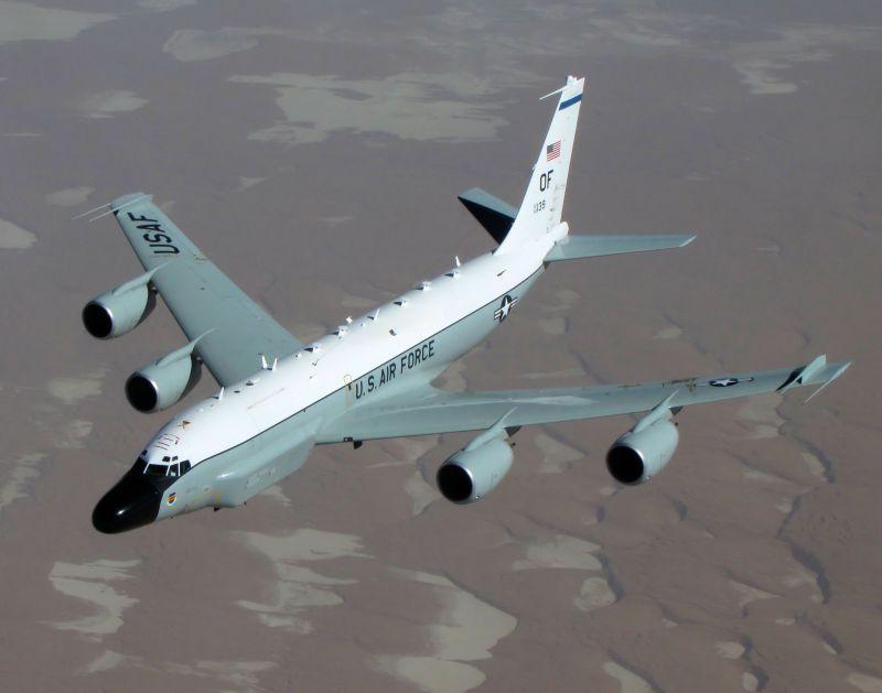 空軍否認美軍RC-135飛越領空 立委:沒申請飛越視為挑釁