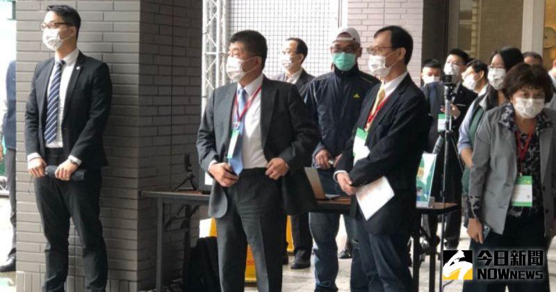 ▲衛福部長陳時中,今(23)天出席活動,針對參選北市長議題做出回應。(圖/記者劉雅文攝)