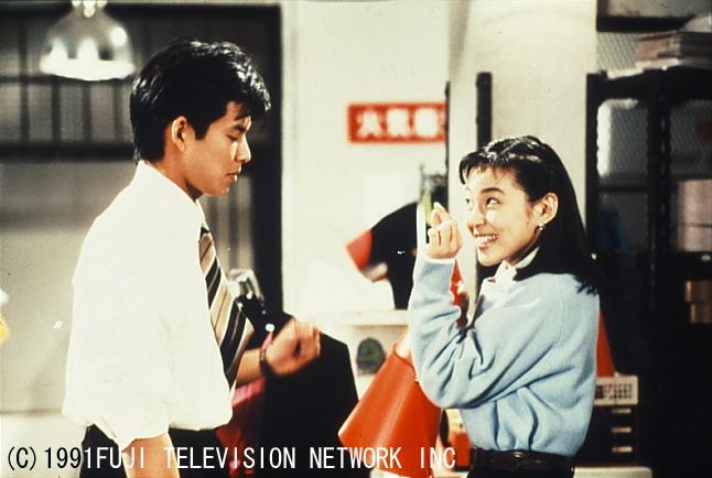 ▲《東京愛情故事》將在台播出,鈴木保奈美(右)、織田裕二互動掀起觀眾回憶。(圖/八大)