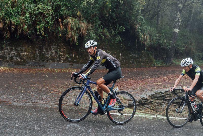 ▲2020臺灣自行車登山王挑戰,台灣第一黃冠霖。(圖/中華民國自行車騎士協會