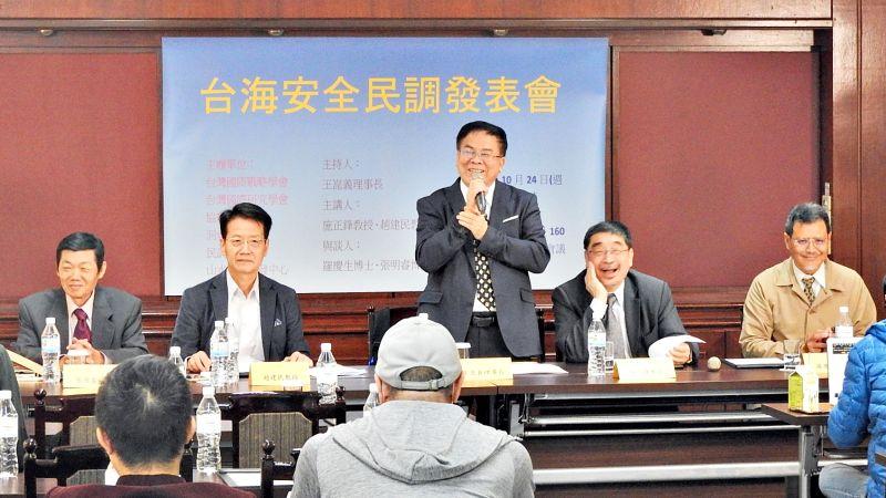 民調:蔡英文若宣布台獨 66%國人願為台灣而戰