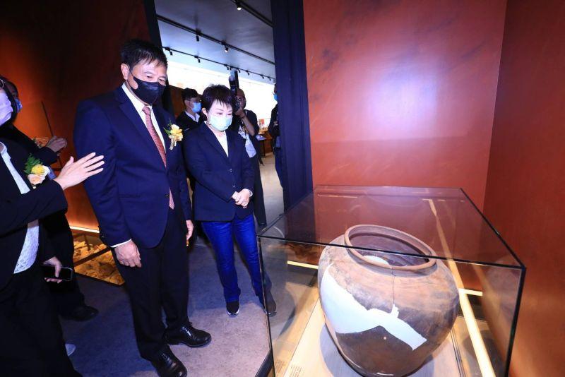 友達西大墩窯文化館開幕 盧秀燕:科技文化共存