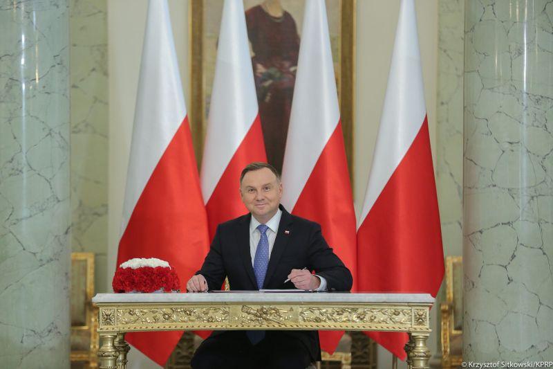 <b>波蘭</b>總統確診染新型冠狀病毒 目前感覺良好