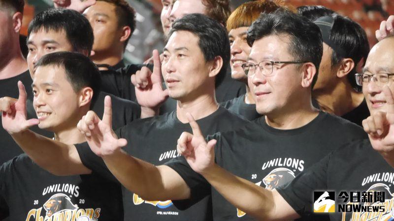 中職/林岳平帶兵拿下季冠軍 蘇泰安宣布:真除總教練!