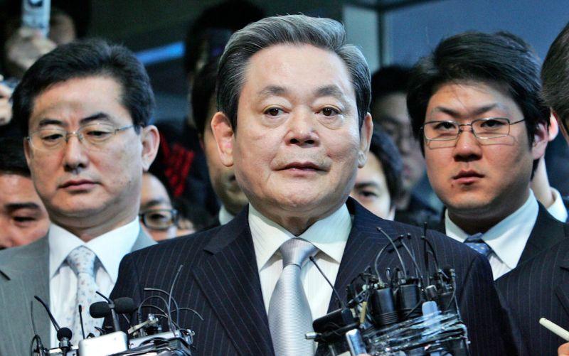 韓國三星集團會長李健熙過世 享壽78歲