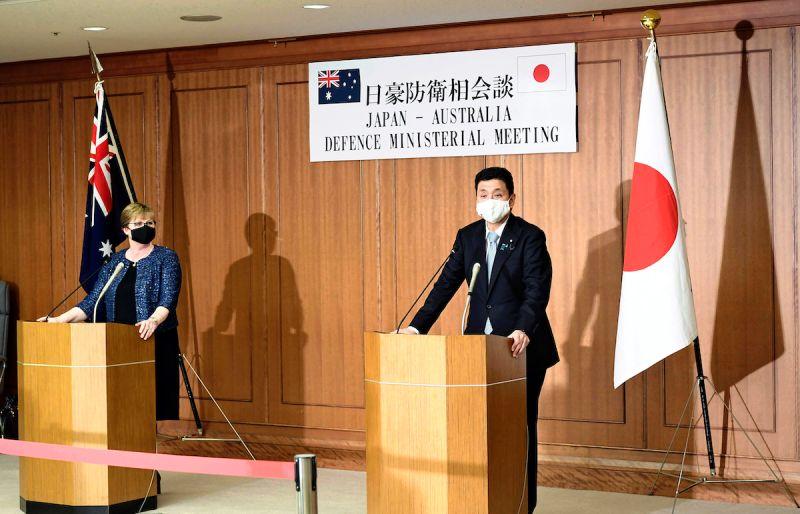 日本防衛相岸信夫批評中國 趁疫情強化東、南海軍事力量