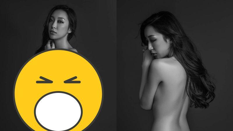 ▲李敏嘉晨突然曬出一系列的裸照。(圖/李敏嘉 IG)