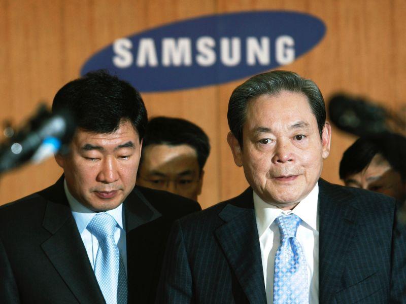 李健熙逝世留下鉅額遺產 韓國關注三星公司架構變化